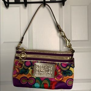 Poppy Coach Multicolor purse
